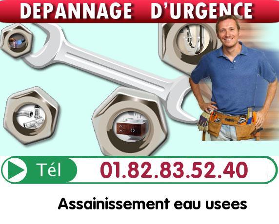 Debouchage Colonne Juziers 78820