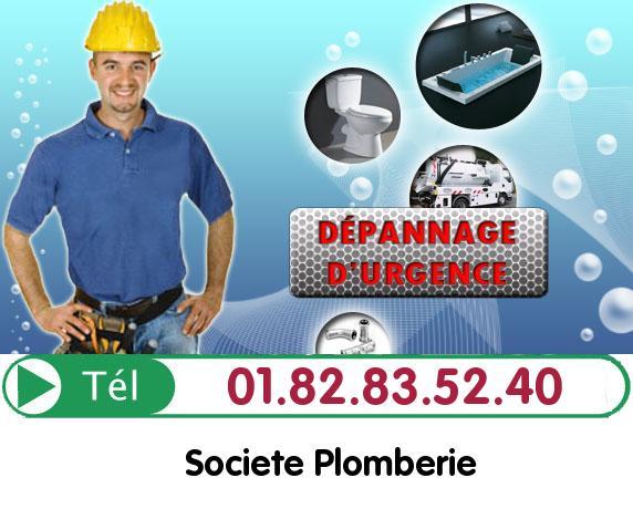 Debouchage Colonne Villers Saint Paul 60870